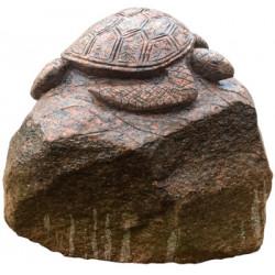 Kamień Polny Rzeźbiony ŻÓŁW...