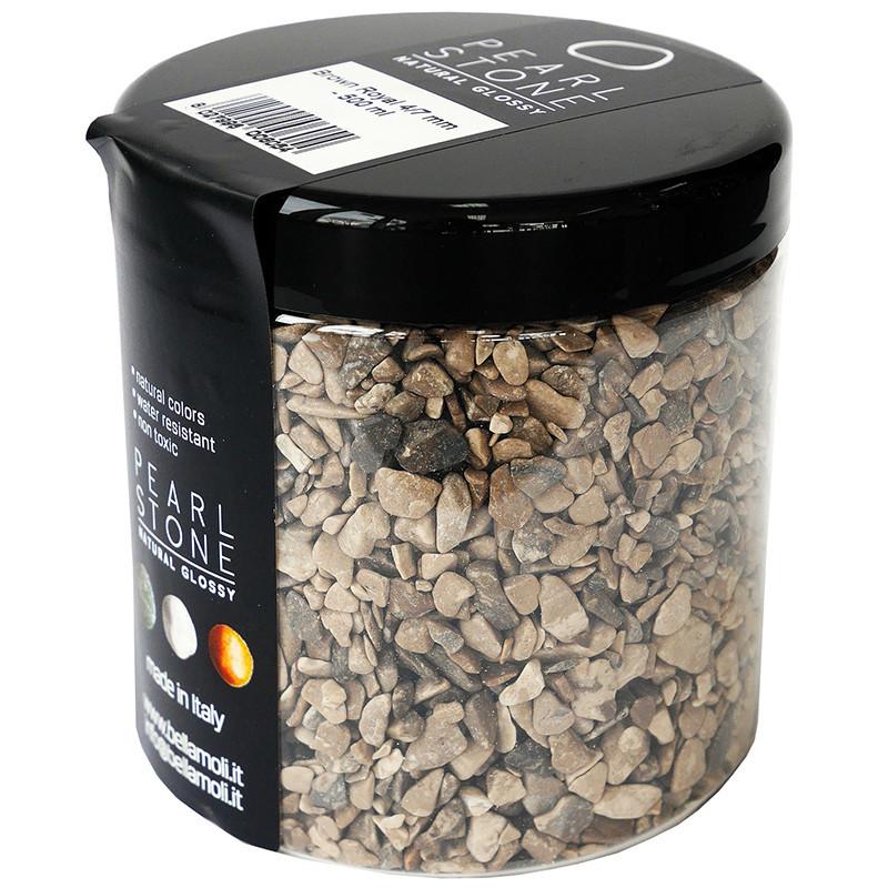 Pearl Stone 4-7 mm Brown Royal 500 ml