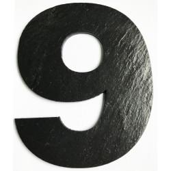 Cyfry z łupka kamiennego do oznaczenia domów i posesji