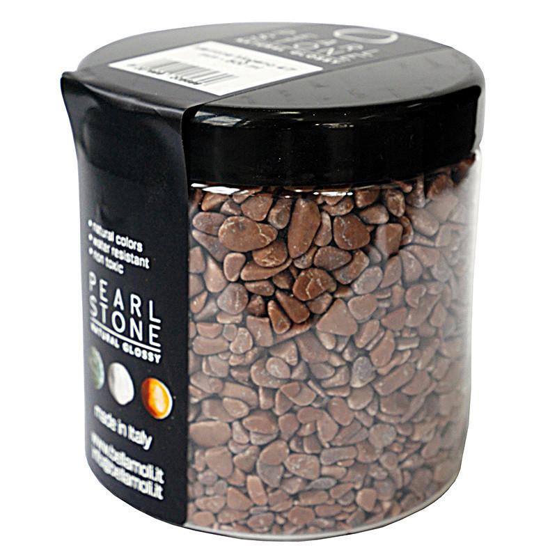 Pearl Stone 4-7 mm Marrone Megano 500 ml