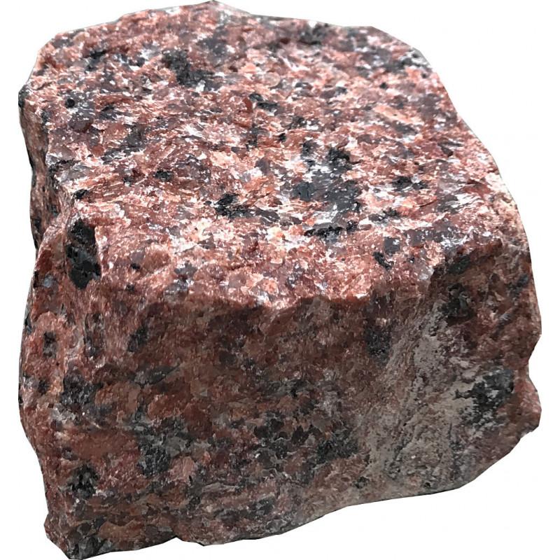Kostka granitowa czerwona 4x6 cm