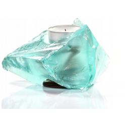 Świecznik Szklany Blue Tealight