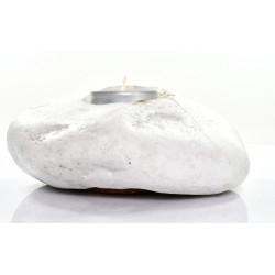 Świecznik Kamienny Thassos Tealight