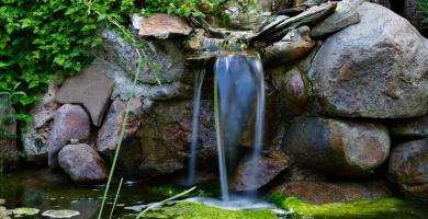 Jak dobrać kamienie do oczka wodnego?