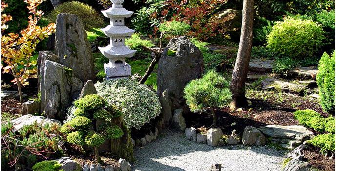 Inspiracje ogrodowe Stone Garden — ogród w stylu japońskim