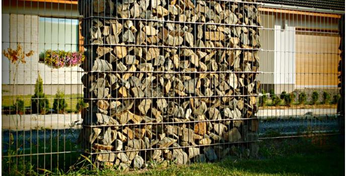 Wypełnienie i konserwacja gabionów